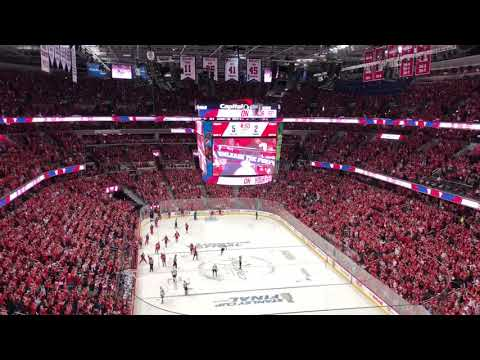 Unleash The Fury Washington Capitals Stanley Cup Game 4