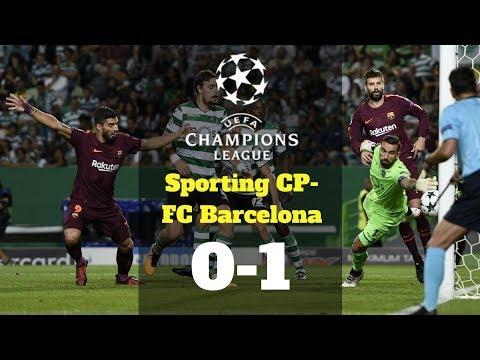 El resumen del Sporting CP Barça