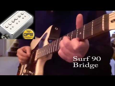 GFS Surf 90 and Gold Foil Pickups Demo and Review