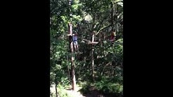 Zip Lining at the Tallahassee Museum