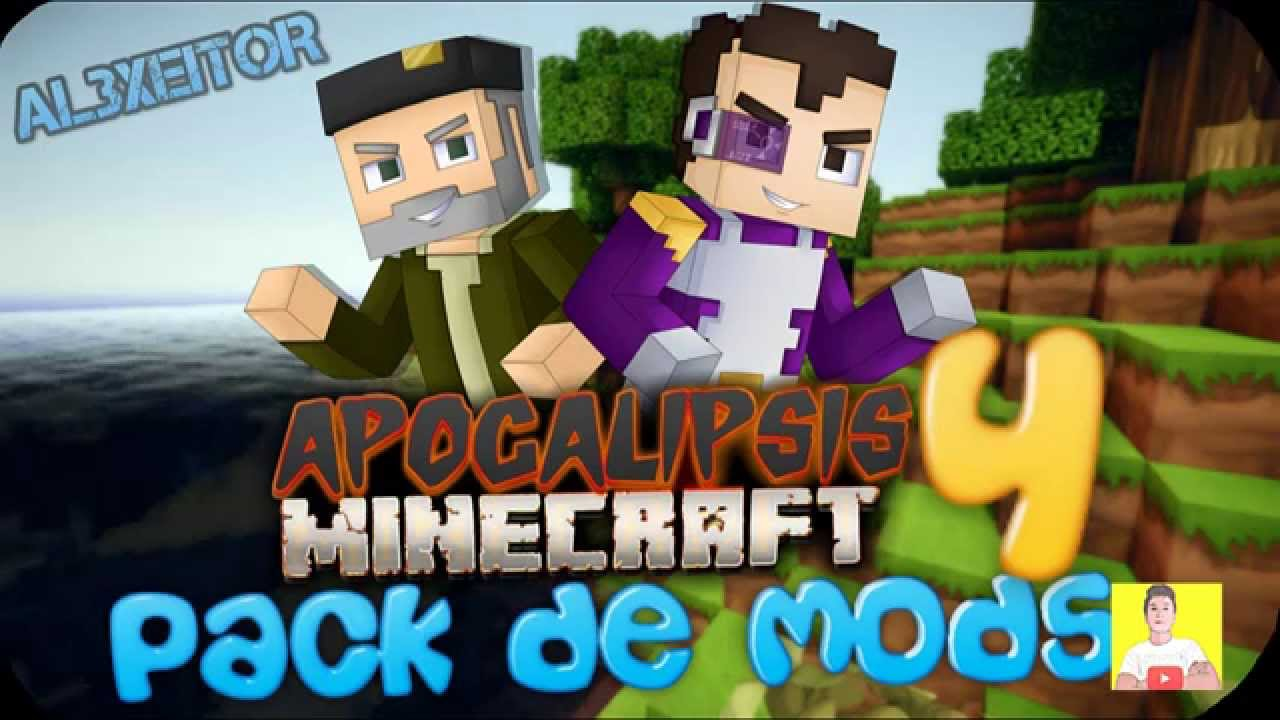 Descargar E Instala Apocalipsis Minecraft 3 Serie Willyrex Vegetta777 Premium Y Pirata By Mychi Xd