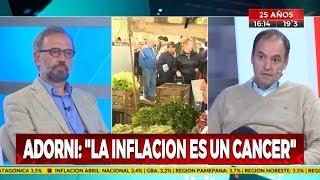 """Manuel Adorni en """"Siempre noticias"""" por Crónica TV - 15/05/19 (parte 1)"""