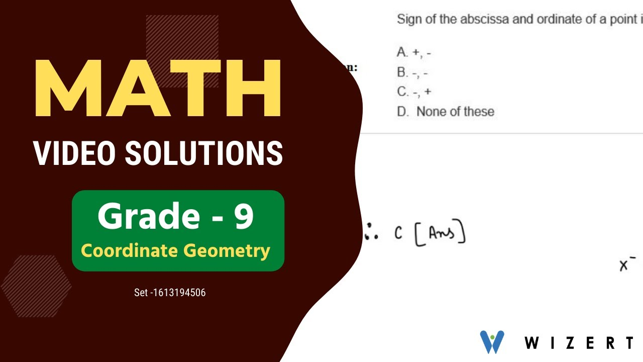 hight resolution of Coordinate Geometry - Coordinate Geometry questions for Grade 9 with  answers - Set 1613194506 - YouTube