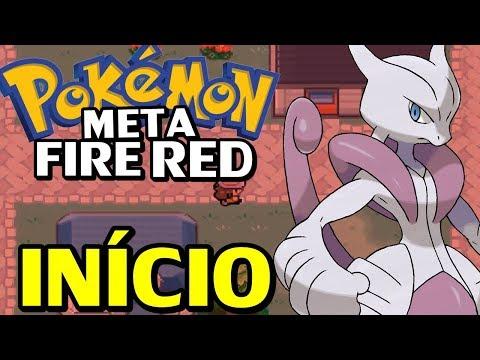 Pokémon Meta Fire Red (Hack Rom) - O Início com Mega Evoluções!