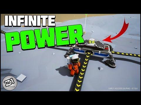 INFINITE POWER! Solar Panels AROUND Barren! Astroneer Rover Update 7.0 | Z1 Gaming