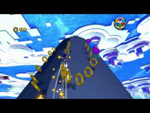 Sonic Lost World - Frozen Factory Zone 1