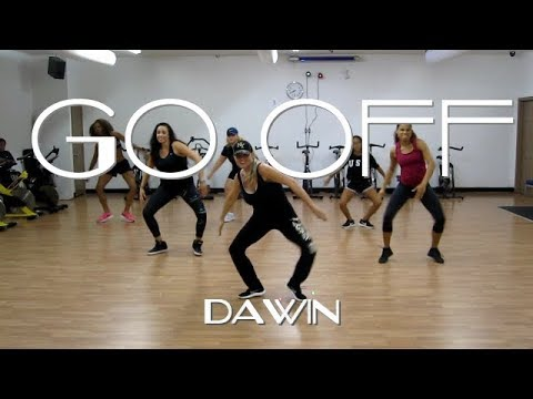 GO OFF | DAWIN | Dance Fitness Hip Hop Routine (Choreography by Susan)