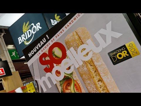 Bridor Salon Sandwich & Snack Show 2016