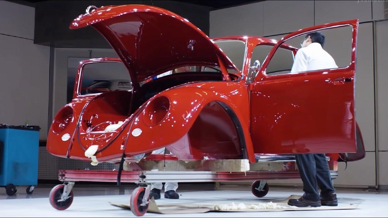volkswagen beetle restoration youtube