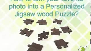Turn Your Favorite Photo Into A Personalized Jigsaw Wood Puzzle.