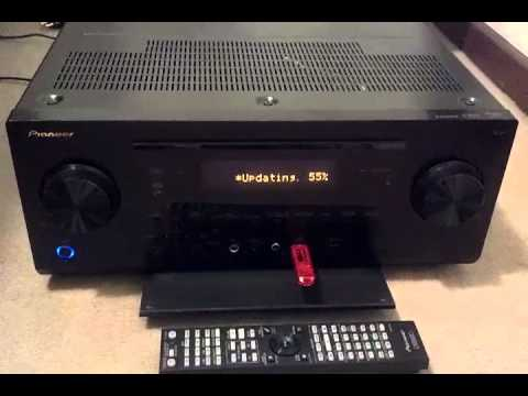 Pioneer SC-61 update process through USB