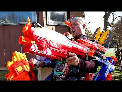 Thumbnail: NERF WAR: THE ULTIMATE TANK LOADOUT