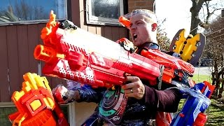NERF WAR: THE ULTIMATE TANK LOADOUT