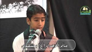 عاشوراء الحسين 1437هـ القارئ السيد محمد هاشم الشرفا  1437/1/9هـ