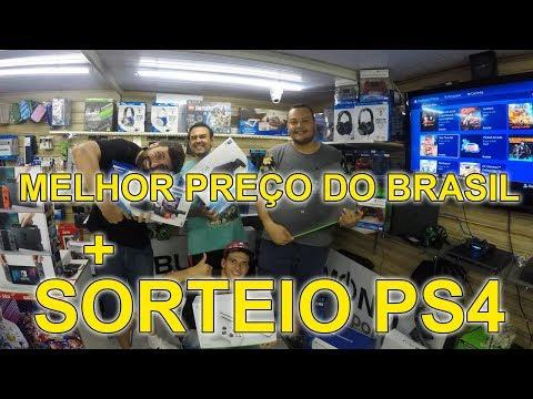 Melhor preço + SORTEIO PS4