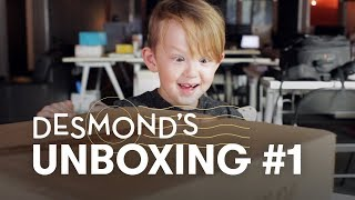 Desmond Unboxing! Captain America and a Pokemon Backpack | Unboxing | HiHo Kids