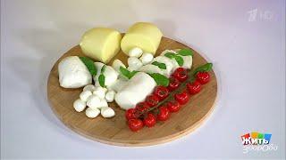 Жить здорово! Сыр моцарелла(23.04.2018)