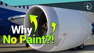 Why the front of the Jet Engine is NEVER painted..