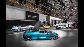 Exclusive tour of McLaren Automotive stand - Geneva Motor Show Live