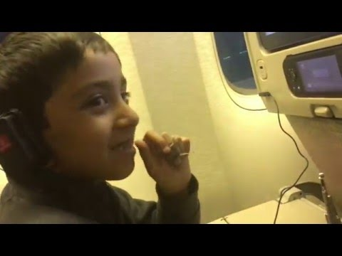 Flying on Emirates Plane Part 2 - From Dubai To Islamabad