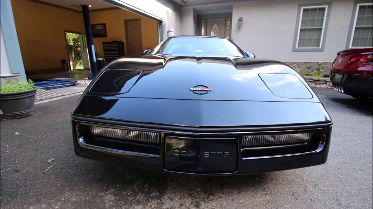 2016 Corvette For Sale >> Beautiful, Collectible 1989 Black Corvette For Sale! - YouTube