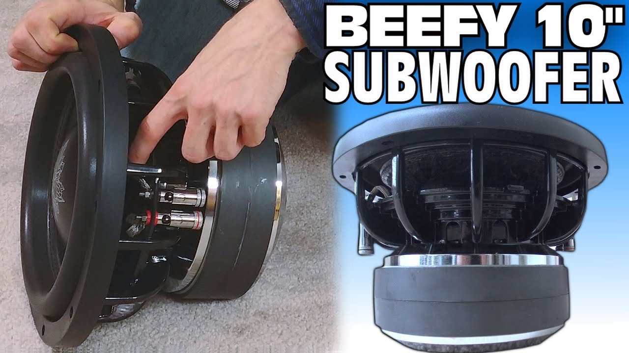 beefy 10 subwoofer w crystal audio solutions sub 10. Black Bedroom Furniture Sets. Home Design Ideas