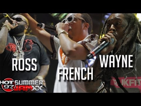 FRENCH MONTANA, RICK ROSS, LIL WAYNE - live at Summer Jam 2013