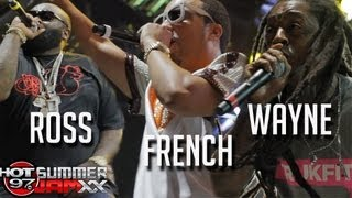 FRENCH MONTANA, RICK ROSS, LIL WAYNE - live at Summer Jam 2013
