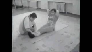 урок физкультуры в Железногорском центре реабилитации незрячих