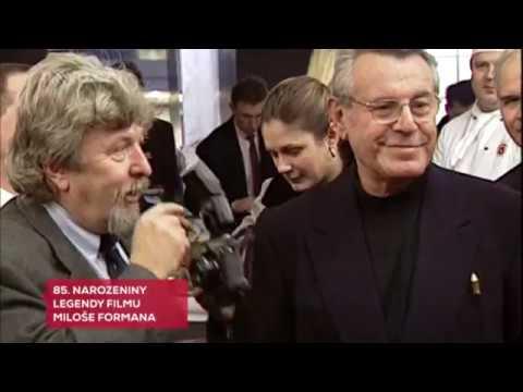 Miloš Forman 85.narozeniny medailonek Tv Nova