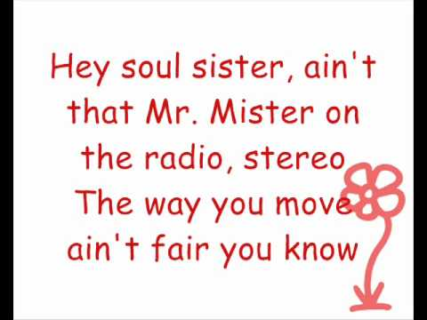 Train  Hey Soul Sister Lyrics