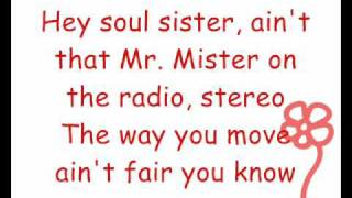 Repeat youtube video Train - Hey Soul Sister (Lyrics)