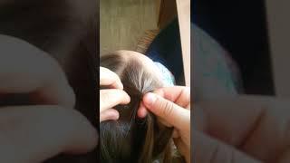 1 видео урок!Причёска!2 французские косички.😆😀