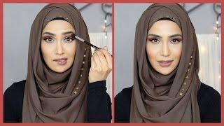 MAKEUP TUTORIAL IN URDU + HINDI! | Amena