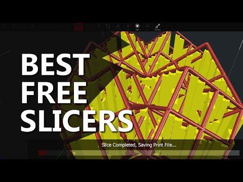 Top 3 FREE 3D Printing Slicers 2017