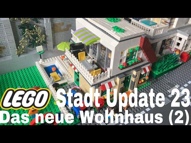 Lego Stadt Update 23/ Das neue Wohnhaus (2)