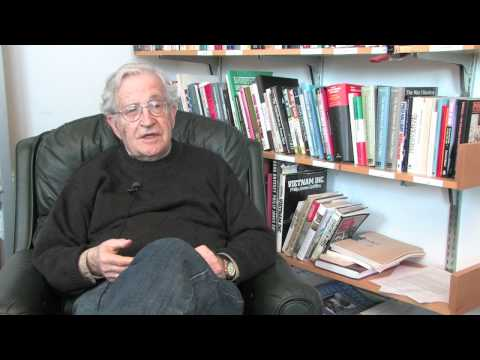 Noam Chomsky explains 'Hegemony or Survival'
