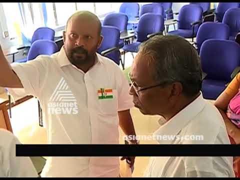 VS Sunilkumar's Sudden Inspection At Wholesale Vegetable Centre At Kozhikode