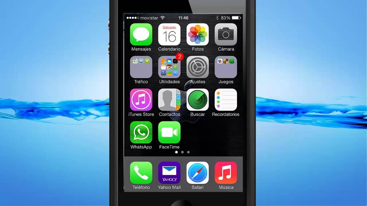 Iphone. Como activar los emoticonos para Whatsapp - YouTube