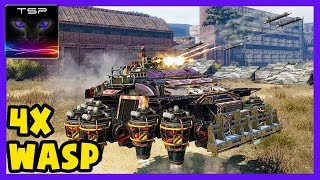Crossout #108 ► Quad WASP Hover Tank Build & Coop Gameplay
