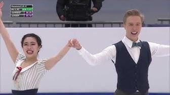 Yuka ORIHARA & Juho PIRINEN FIN RD 2020 European Championships