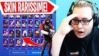 "I FIND a PROFILO with SKIN plus FORTNITE RARE ! ""ASSURDO"""