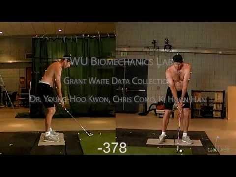 TWU Biomechanics Lab - Grant Waite Data Collection