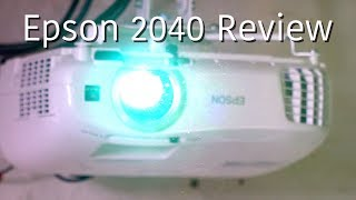 Epson Home Cinema 2040 / 2045 Projector Full Review
