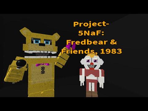 Roblox Gameplay【Project】 5NaF: Fredbear & Friends, 1983 ... | 480 x 360 jpeg 26kB