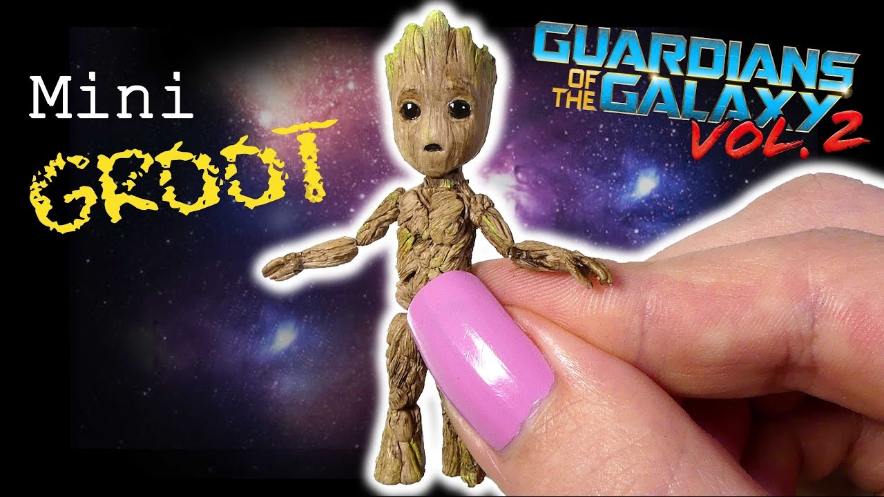 fe070932c How To Baby Groot Inspired Tutorial // DIY Guardians Of The Galaxy ...