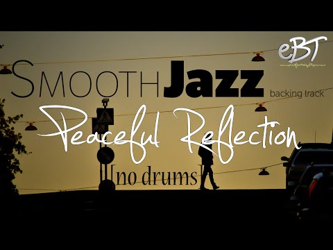 Smooth Jazz Backing Track in C Major [60bpm] - NO DRUMS