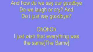 Savannah Outen Goodbye Lyrics