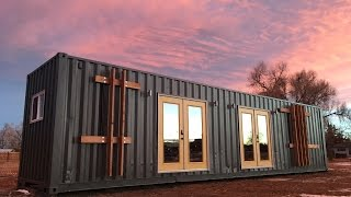 The Intellectual Container Tiny House Is For Sale