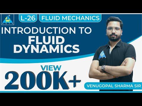Fluid Mechanics | Module 4 | Introduction to Fluid Dynamics (Lecture 26)
